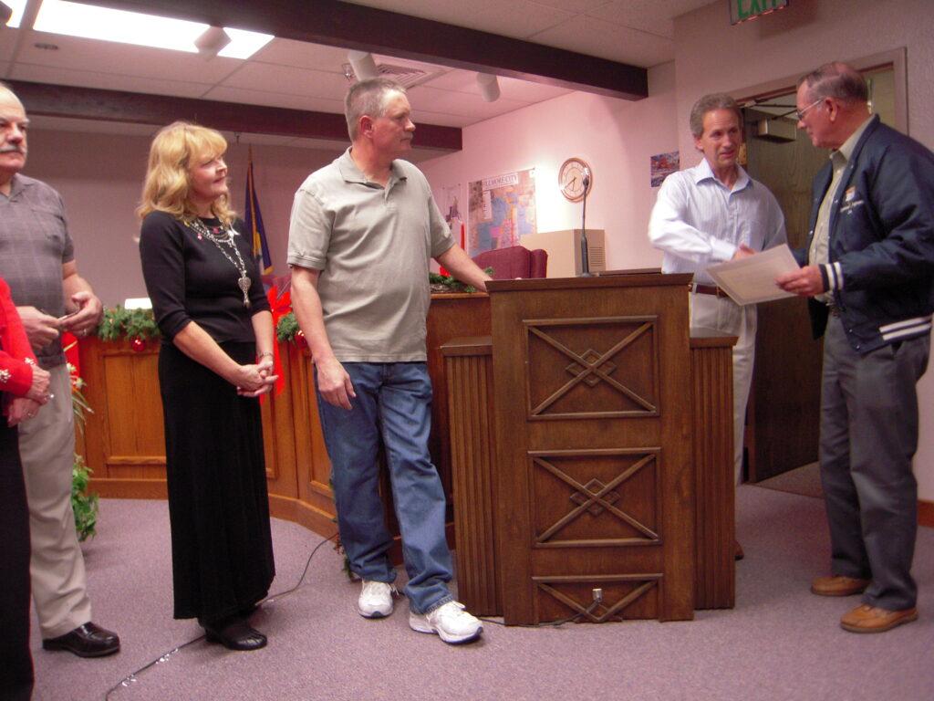 Dec 2010 Beautification Award Don Frampton